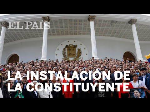 El Chavismo Consuma La Instalación De Su Constituyente   Venezuela