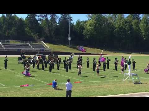 West Iredell High School Band September 30 2017