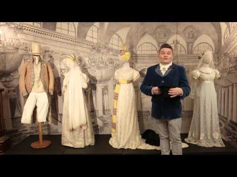 Трейлер к фильму Мода пушкинской эпохи , историк моды Александр Васильев