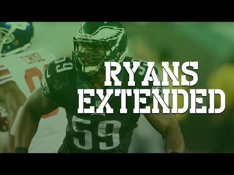 Eagles Extend Demeco Ryans, and Mychal Kendricks talk! (My Thoughts)