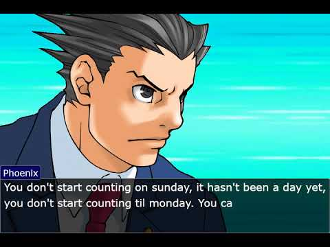 That One Really Dumb Bodybuilding Forum Argument But It's In Ace Attorney