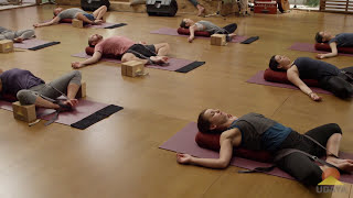 Supta Baddha Konasana - Yoga Hip Openers