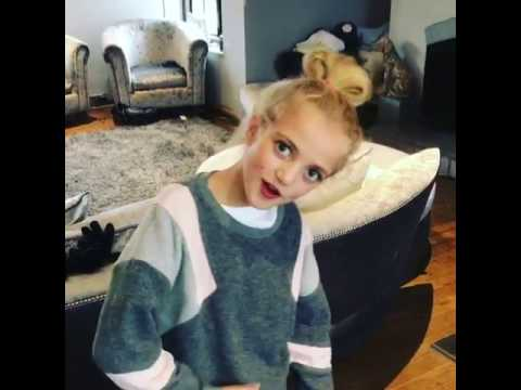 Katie Price's daughter raps