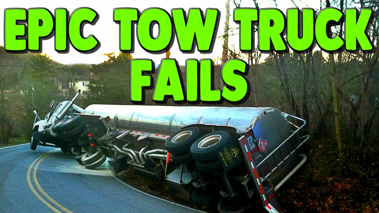 Best Epic Tow Truck Fails Compilation 2017