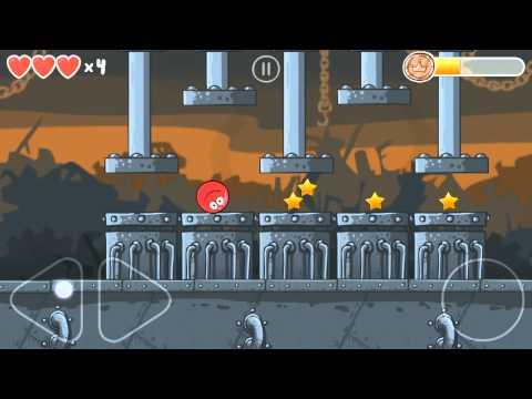 Red Ball 4: Volume 3(Box Factory) - Game Walkthrough (All levels 31-45 + Boss Fight)
