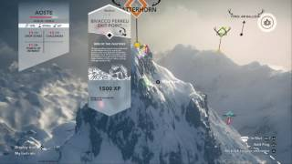 The Viking is playing Steep all drop zones on Aoste