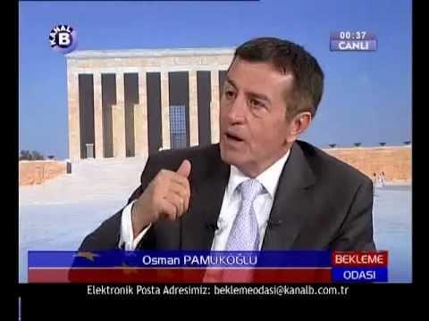 Osman PAMUKOGLU - 06.06.2008 - Kanal B - BEKLEME ODASI - Tv Program