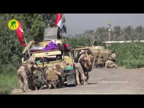 Iraq War 2016   Iraqi Forces In Heavy Clashes With ISIS During Intense Combat Action In Fallujah