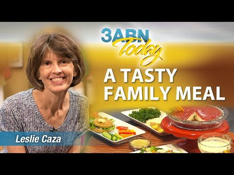 "3ABN Today Cooking ""A Tasty Family Meal"" with Leslie Caza (TDYC018009)"