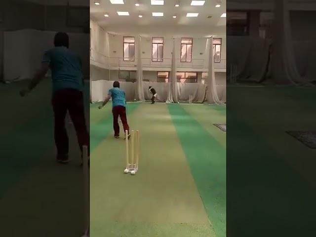 Ahmad Shehzad practicing & focusing hard for Another International return.