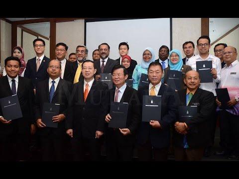 Majlis Pelantikan Ahli Majlis Pengangkutan Negeri Pulau Pinang