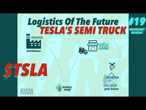 MOONSHOT MONDAY Tesla Freight Network