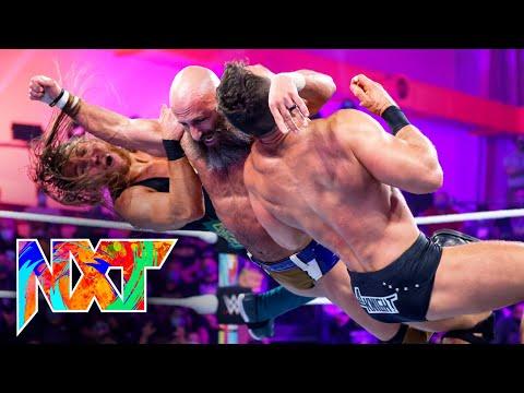 Ciampa vs. Dunne vs. Knight vs. Wagner – NXT Title Fatal 4-Way Match: WWE NXT, Sept. 14, 2021