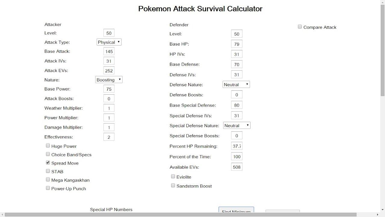 Ev Stat Calculator