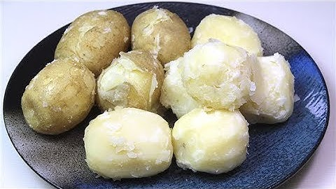 포슬포슬 분이 나게 감자 삶는 법, 물 조절, 감자 찌는 시간