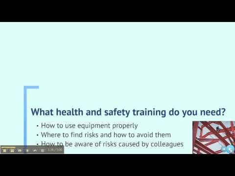 What You Need to Know: Health and Safety Training Basics