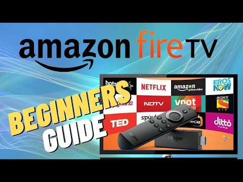 AMAZON FIRE TV STICK SETUP FOR BEGINNERS