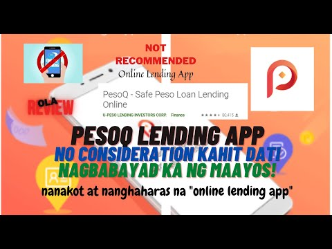 PESOQ LENDING APP | NOT RECOMMENDED | OUR HONEST REVIEW