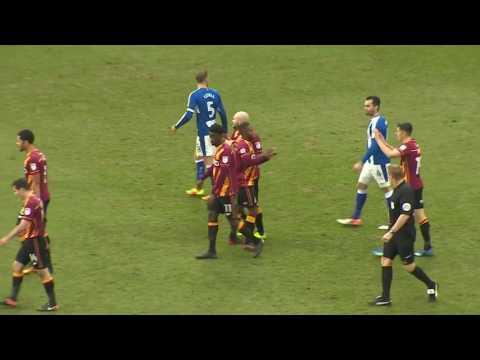 Mark Marshall's goals for Bradford City in 2016/17!