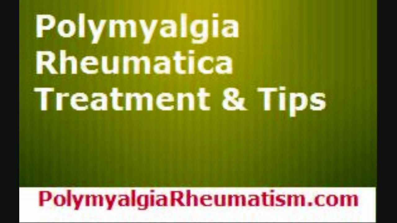 Tratament naturist polimialgie reumatoida
