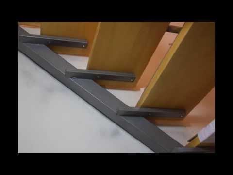 видео: Лестница на второй этаж в каркасном доме