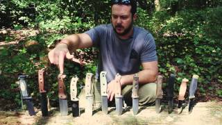 Black Scout Tutorials - How to Choose a Survival Knife