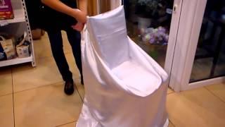как одеть чехол на стул(как одеть чехол на стул., 2013-05-24T07:18:49.000Z)