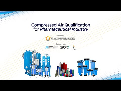 Webinar Compressed Air Qualification For Pharmaceutical Industry