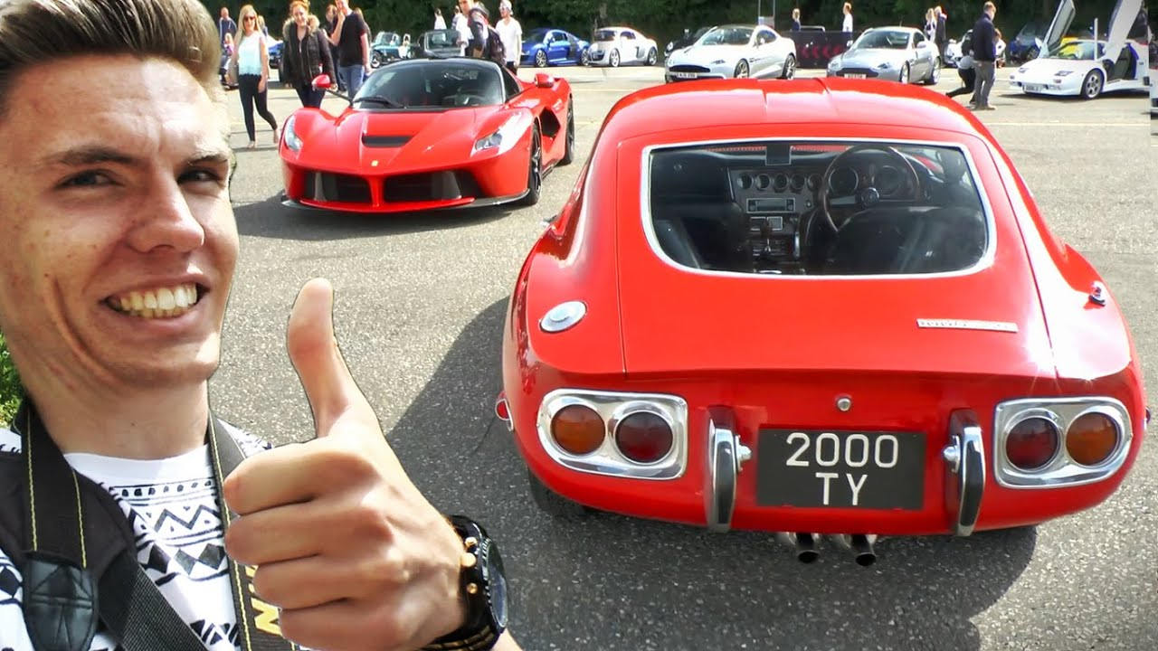 Tuners vs. Supercars - A Car Show to suit All!