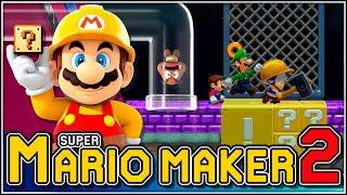 Atrapa la llave!!! | Super Mario Maker 2
