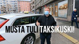 Musta tuli taksikuski! 🚕