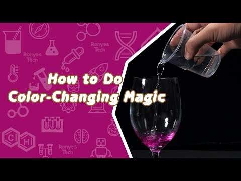 Pink Lover - How to Do Color-Changing Magic