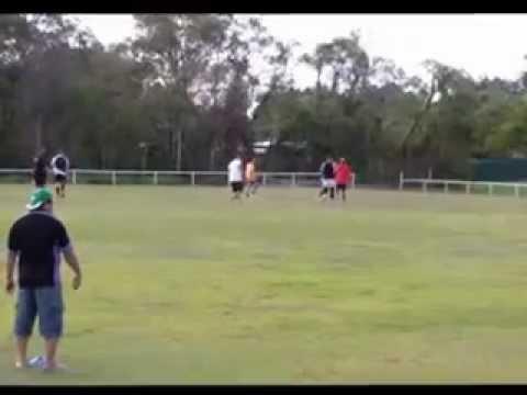 Niue Brisbane Bilbies Touch game