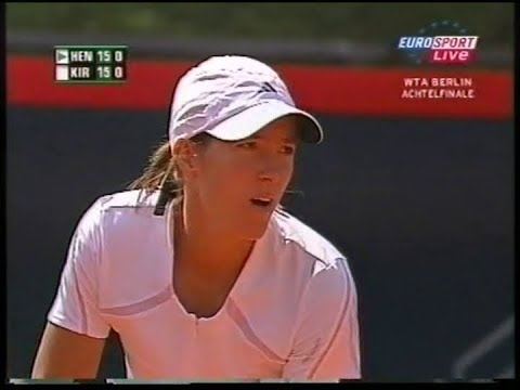 Justine Henin-Hardenne vs Maria Kirilenko German Open Berlin 2006 (full match)