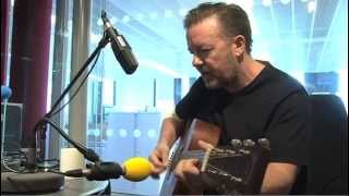"Ricky Gervais (as David Brent) performs ""Life on the Road"""