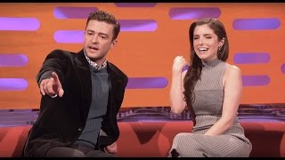 Anna Kendrick & Justin Timberlake Love The Great British Bake Off - The Graham Norton Show