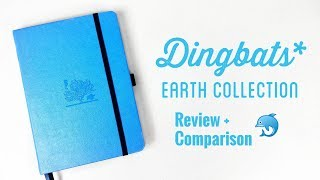 Dingbats Notebook Earth Collection Review and Comparison   The Boosted Journal