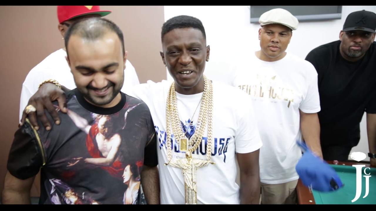 Boosie Meet And Greet At King Johnnys Chaining By Iceman Nick Youtube