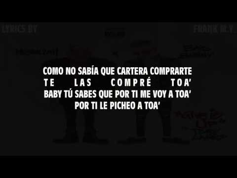 Messiah Ft  Bad Bunny - Give It Up (Spanish Remix)_(Lyrics/Letra2017)