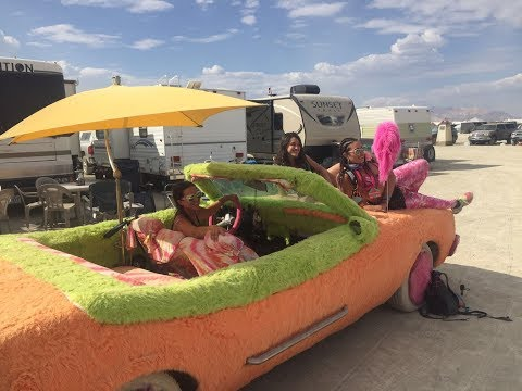 Burning Man 2017 with JLW on the Road