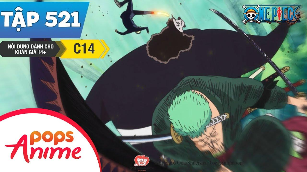 One Piece Tập 521 - Trận Đấu Bắt Đầu! Thành Quả Của Việc Luyện Tập! - Đảo Hải Tặc