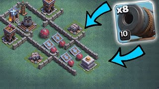 INSERT CANNON HERE!! | CANNON MAZE!!! | Clash of clans