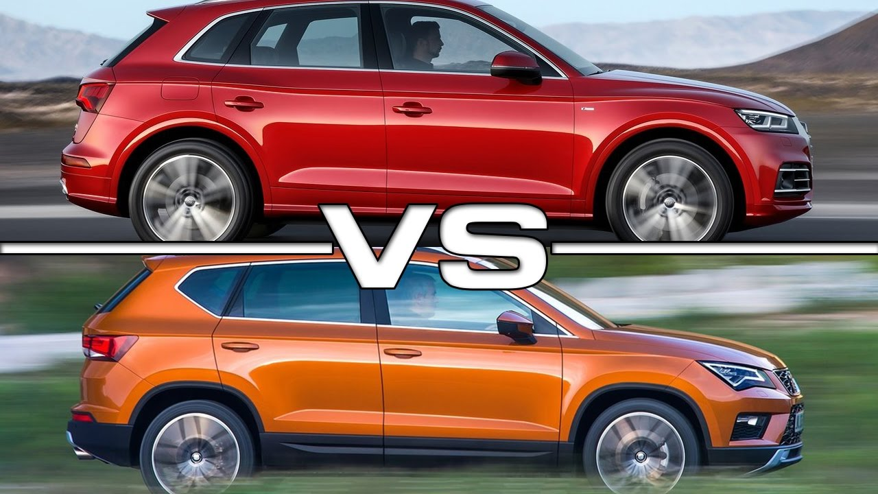 Audi Q3 Vs Q5 >> Audi Q5 vs Seat Ateca - YouTube