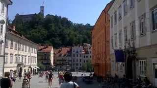На улице в Любляне !