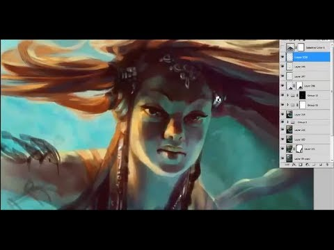 Traditional style in Photoshop with Ubisoft artist Bianca Draghici