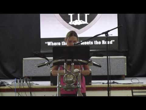 Solid Rock Biker Church.Marilyn Thomas' testimony