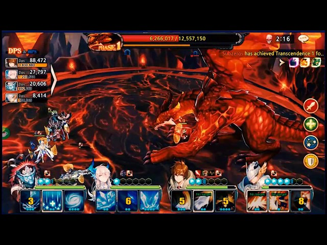 [Z Channel] | King's Raid | Mobile Game | Gameplay preview - Dragon Raid| Gaming is Fun