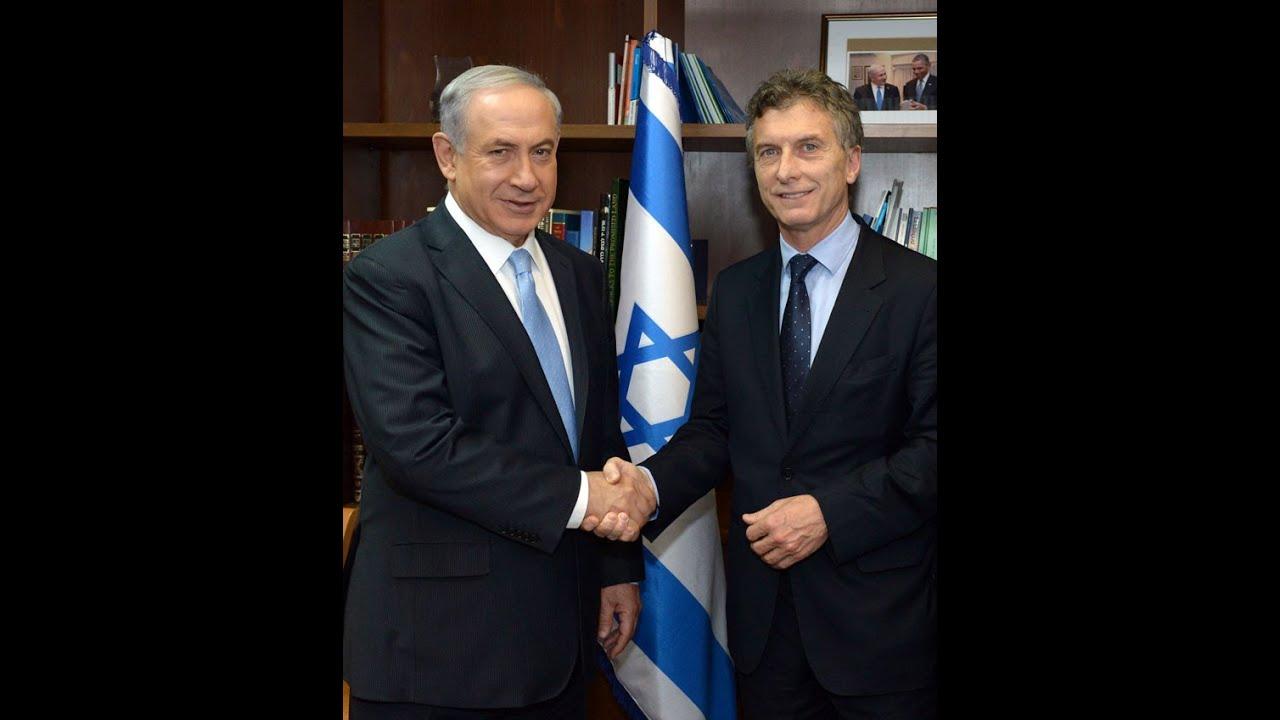 Resultado de imagen de mauricio macri fiel a israel