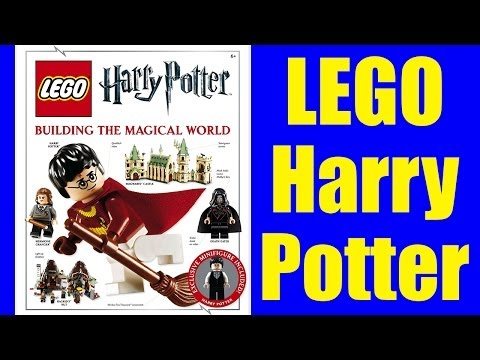 Harry Potter Building The Magical World Dk Book Exclusive Minifigure Review