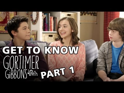 Get to Know the Cast of Gortimer Gibbon's  Part 1
